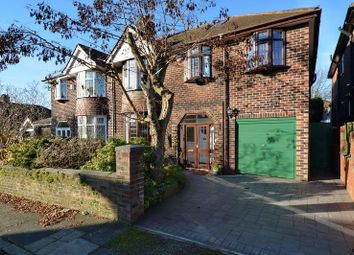 Thumbnail 5 bedroom semi-detached house for sale in Grasmere Avenue, Whitefield, Manchester
