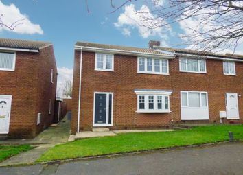 Thumbnail 3 bed semi-detached house for sale in Hesledon Walk, Murton, Seaham