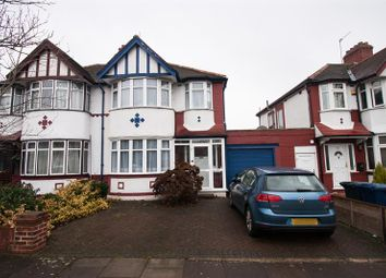 Thumbnail 3 bed property for sale in Cleveley Crescent, Ealing, London