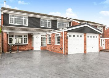 Thumbnail 5 bed detached house for sale in St. Cuthberts Close, West Bromwich