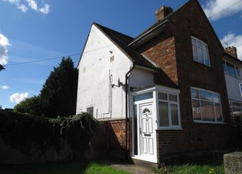 Thumbnail 2 bed end terrace house for sale in Barnwell Road, Kingsthorpe, Northampton