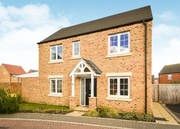 Thumbnail 3 bed detached house for sale in Biffin Way, Swaffham