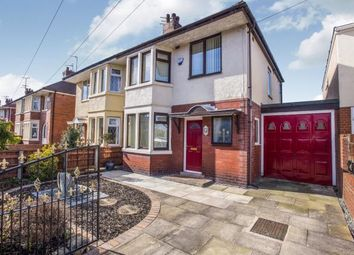 Thumbnail 3 bed semi-detached house for sale in Longridge Avenue, Blackpool, Lancashire, .