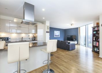 Thumbnail 2 bed flat for sale in Atrium Heights, 4 Little Thames Walk, London