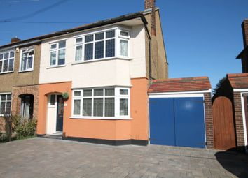 Thumbnail 4 bed semi-detached house for sale in Ravenscourt Close, Hornchurch