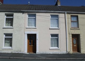 Thumbnail 3 bed terraced house for sale in Sawel Terrace, Swansea