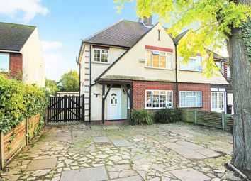 Thumbnail 3 bed semi-detached house for sale in Station Road, Broxbourne, Hertfordshire.