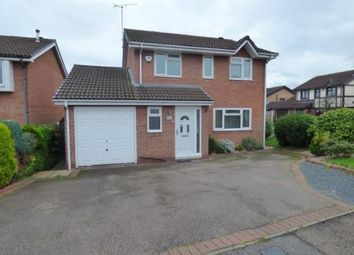 Thumbnail 4 bed detached house for sale in Henley Close, Tamworth, Staffordshire