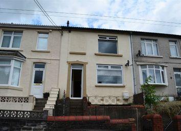 Thumbnail 3 bed terraced house for sale in Hylton Terrace, Bedlinog, Treharris, Mid Glamorgan