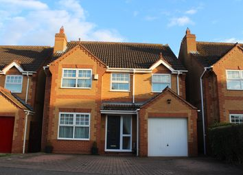 Thumbnail 4 bed detached house for sale in Petworth Close, Market Deeping, Peterborough