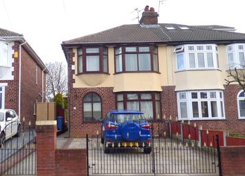 Thumbnail 3 bed semi-detached house for sale in Wilton Road, Huyton, Liverpool