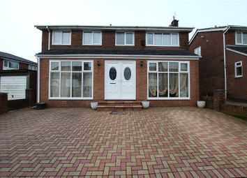 Thumbnail 4 bed detached house for sale in Stokesay Close, Hollins, Bury