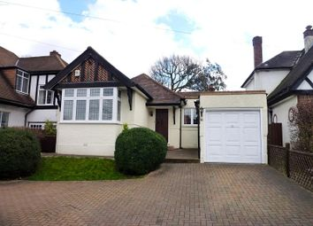 Thumbnail 3 bed detached bungalow for sale in Chestnut Avenue, West Ewell, Surrey.