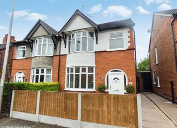 Thumbnail 3 bed semi-detached house for sale in Hungerford Terrace, Crewe