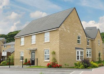 "Thumbnail 4 bedroom detached house for sale in ""Cornell"" at Manywells Crescent, Cullingworth, Bradford"