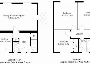 Thumbnail 3 bedroom maisonette to rent in Camden Town, London