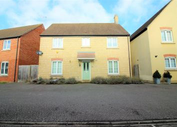 Thumbnail 4 bed detached house for sale in Cassini Drive, Oakhurst, Swindon