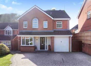 Thumbnail 4 bed detached house for sale in Moorcroft Close, Redditch