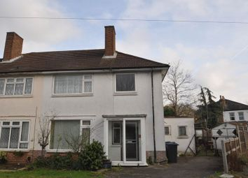 Thumbnail 3 bed semi-detached house for sale in Barton Green, New Malden