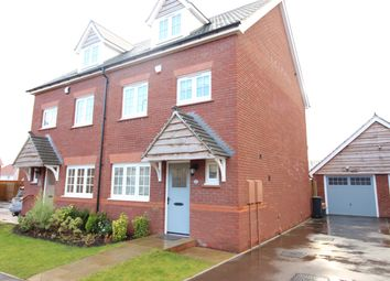 Thumbnail 4 bed semi-detached house for sale in Excalibur Drive, Newport