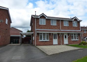 Thumbnail 3 bed semi-detached house for sale in Rosecroft Gardens, Swadlincote