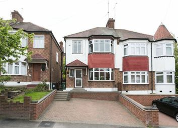 Thumbnail 3 bed semi-detached house for sale in Brindwood Road, London