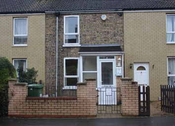 Thumbnail 2 bed terraced house to rent in Park Street, Peterborough