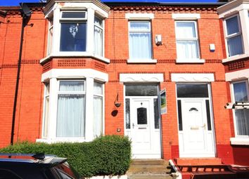 Thumbnail 3 bedroom terraced house for sale in Wingate Road, Aigburth, Liverpool