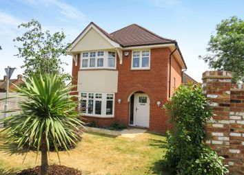Thumbnail 3 bedroom detached house for sale in Chaplins Drive, Roade, Northampton