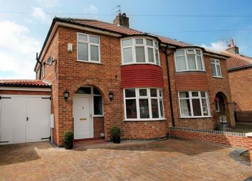 Thumbnail 4 bed semi-detached house for sale in Penyghent Avenue, York