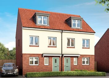 "Thumbnail 3 bed property for sale in ""Bamburgh"" at Long Lands Lane, Brodsworth, Doncaster"