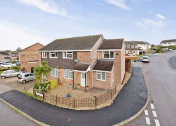 Thumbnail 4 bedroom semi-detached house for sale in Rowlstone Close, Exmouth