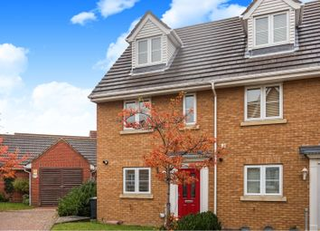 Thumbnail 3 bed terraced house for sale in Rowan Way, Dunmow