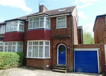 Thumbnail 4 bed semi-detached house to rent in St Andrews Drive, Stanmore, Middlesex