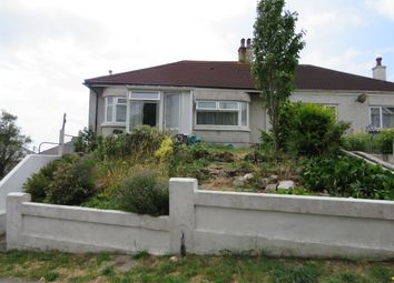 Thumbnail 2 bed semi-detached bungalow for sale in Higher Efford Road, Plymouth