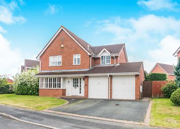 Thumbnail 4 bed detached house for sale in Spafield Close, Telford