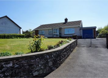 Thumbnail 3 bed detached bungalow for sale in High Street, Llangadog