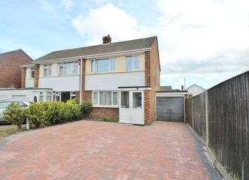Thumbnail 3 bed semi-detached house for sale in Chadwell Avenue, Southampton