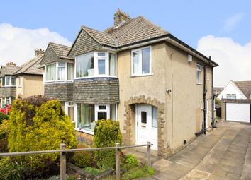 Thumbnail 3 bed semi-detached house for sale in Warren Lane, Bingley, West Yorkshire