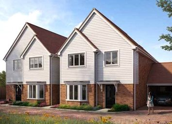 Thumbnail 4 bed semi-detached house for sale in Hanover Place, Holborough Lakes, Manley Boulevard, Snodland