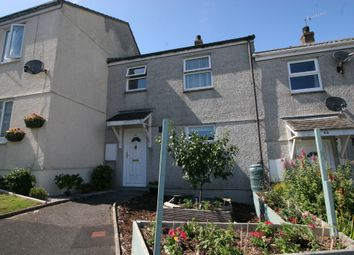 Thumbnail 3 bed terraced house for sale in Trelawney Rise, Torpoint, Cornwall