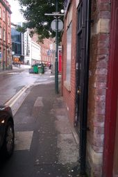Thumbnail 2 bedroom terraced house to rent in Broad Street, Nottingham