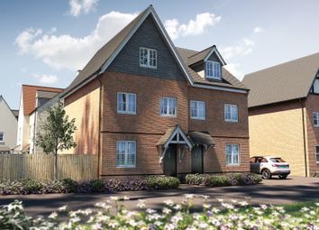 "Thumbnail 3 bedroom end terrace house for sale in ""The Scarsdale"" at Town Farm Close, Thame"