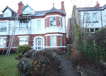 Thumbnail 2 bed flat for sale in Abergele Road, Old Colwyn, Colwyn Bay