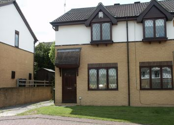 Thumbnail 2 bed semi-detached house to rent in Tannerbrook Close, Clayton, Bradford