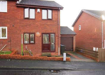 Thumbnail 2 bed semi-detached house to rent in Azalea Way, Newburn, Newcastle Upon Tyne