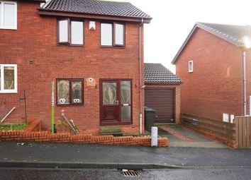Thumbnail 2 bedroom semi-detached house to rent in Azalea Way, Newburn, Newcastle Upon Tyne