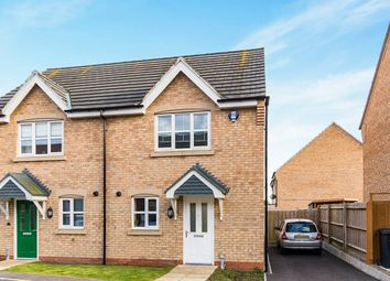 Thumbnail 2 bed semi-detached house to rent in Spire Close, Lincoln