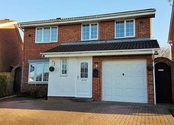 Thumbnail 4 bed detached house for sale in Stonechat Close, Lowfields