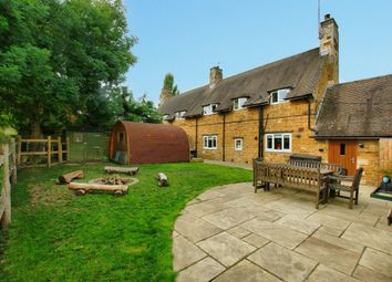 Thumbnail 4 bed cottage for sale in The Cottons, Rockingham, Market Harborough